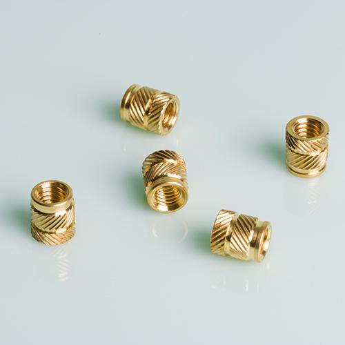 Threaded Inserts Brass or Stainless Steel
