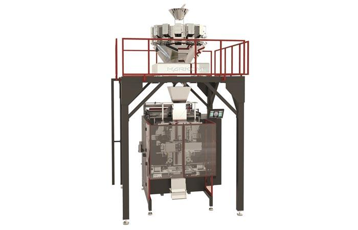 IMQ-W SERIES Quadseal Packaging Machine With Multihead Weigher