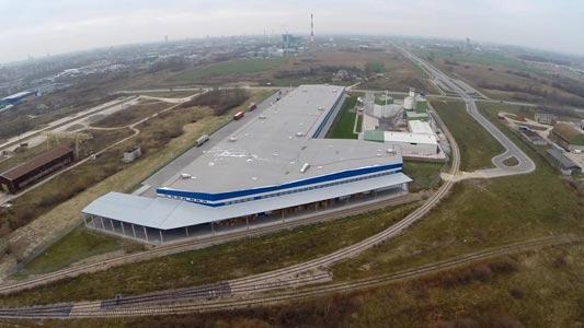Distributional terminal logistics Klaipeda Lithuania