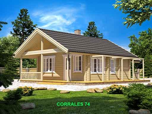 ECOLOGICAL WOODEN HOUSE CORRALES 74