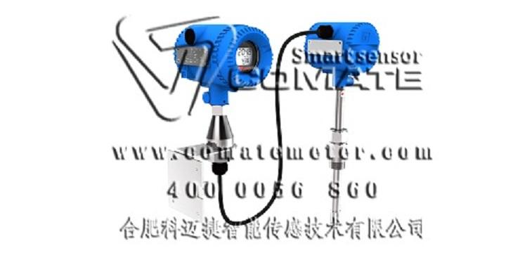 COMATE Remote mounting thermal mass flow meter