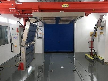 Infrared full panel repair system
