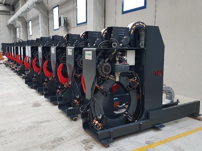 ATS Mechatronics - Tying machines for bundles & stacks