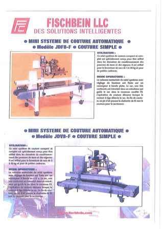 Mini Système de couture automatique