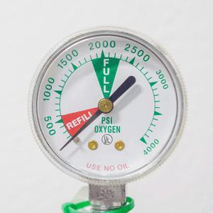 Oxygen Clean Pressure Calibration