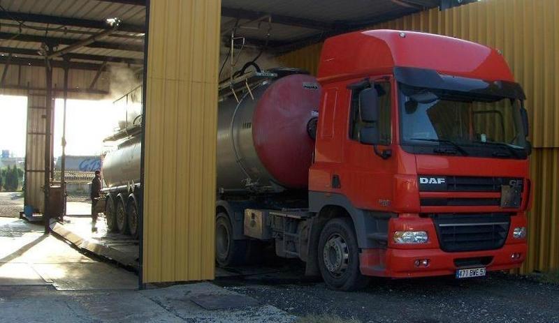 Dégazage de camion citerne