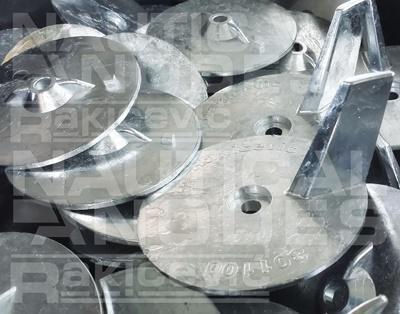 Engine anode