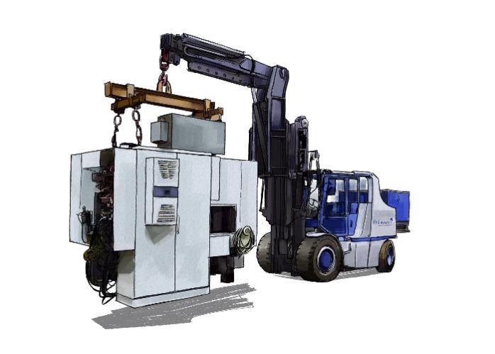 Illustration Kompaktstapler 22 Tonnen