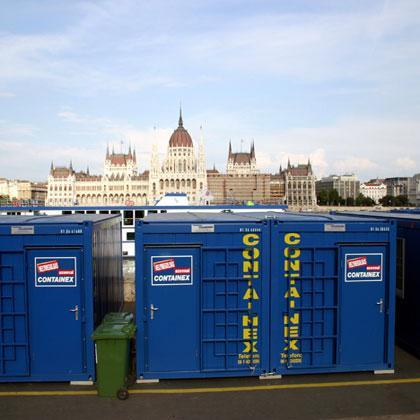 Containex Container Handelsgesellschaft Mbh Metallcontainer