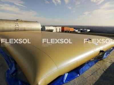 FLEXIBLE TANKS FOR INDUSTRIAL WATER