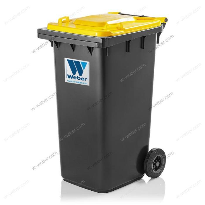 Waste bins, dustbins, Wheelie bins 120, 140, 180, 240 litre