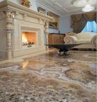 Realizzazione di pavimenti in marmo