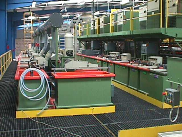 Manual treatment plant surfaces