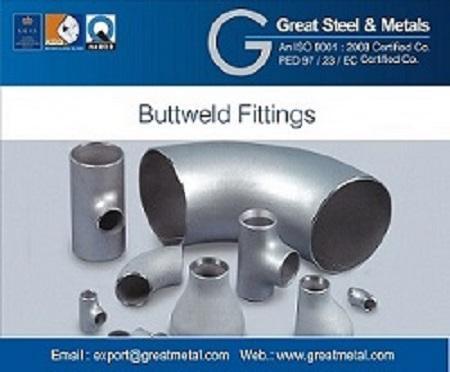 Butt weld fittings