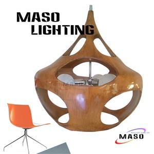 Hot sale Project Indoor Resin Pendant Lamp Maso MS-P1047L E27 LED 5w Three Light