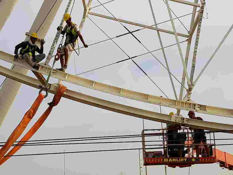 Big Ferris Wheel - Dubai 2017