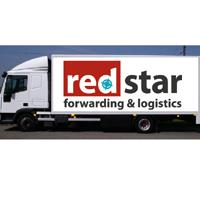 Challenging Red Star Forwarding & Logistics logo on truck