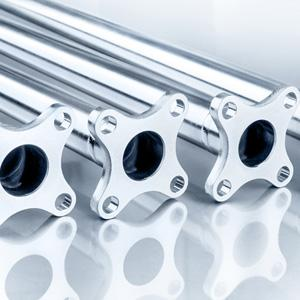 Titanium actuation tubes