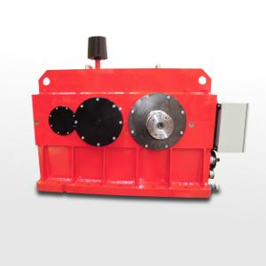 Gearbox for aicraft turbine test bench