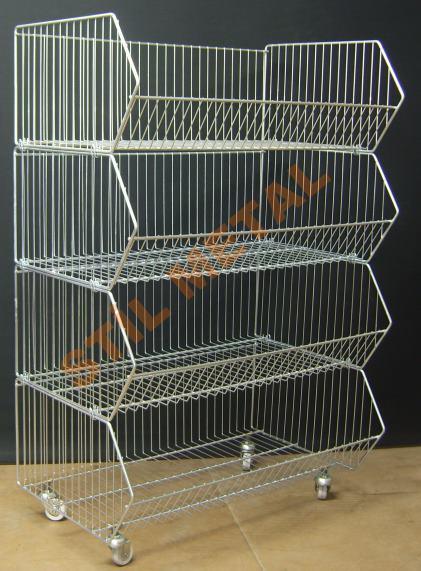 Display Wire Rack Basket