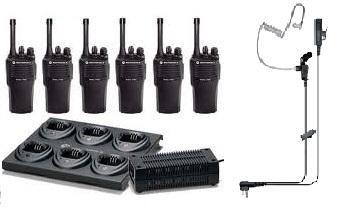 Motorola Radios, UHF/VHF