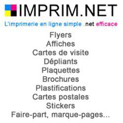 L'imprimerie en ligne simple .net efficace