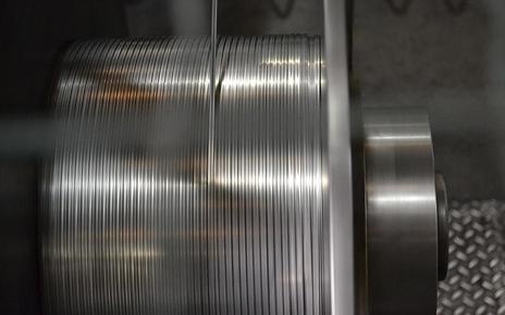 Lavorazione fili in zinco
