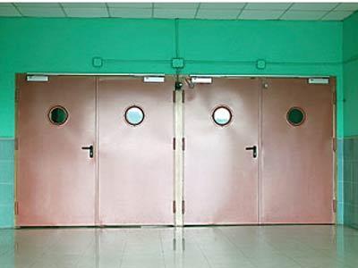 Puertas industriales blindadas y cortafuego