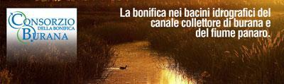 CONSORZIO DELLA BONIFICA BURANA bonifiche