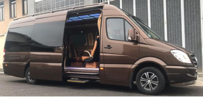 Mercedes Sprinter Luxury 6 seats Caarp Car & Bus Services Ncc Torino