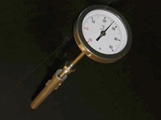 Termometro per serbatoi