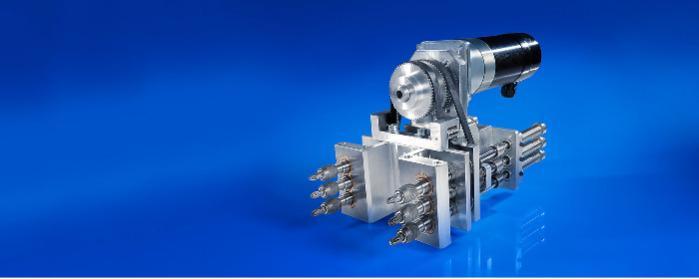 Elektrokleinmotoren und Getriebe