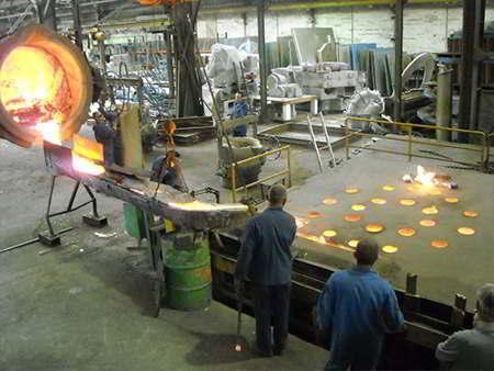 Large Size Aluminium Bronze Sand Casting
