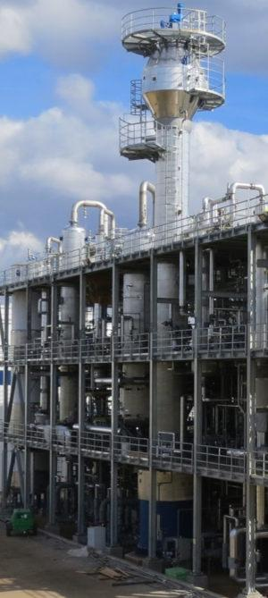 Liquid-Liquid Extraction column for Oil recovery