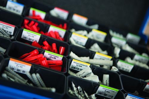 Insetbox mit Labels