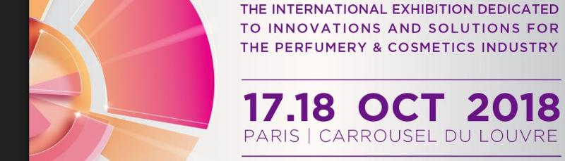THE INTERNATIONAL INNOVATION FAIR FOR PERFUMERY AND COSMETICS INDUSTRY