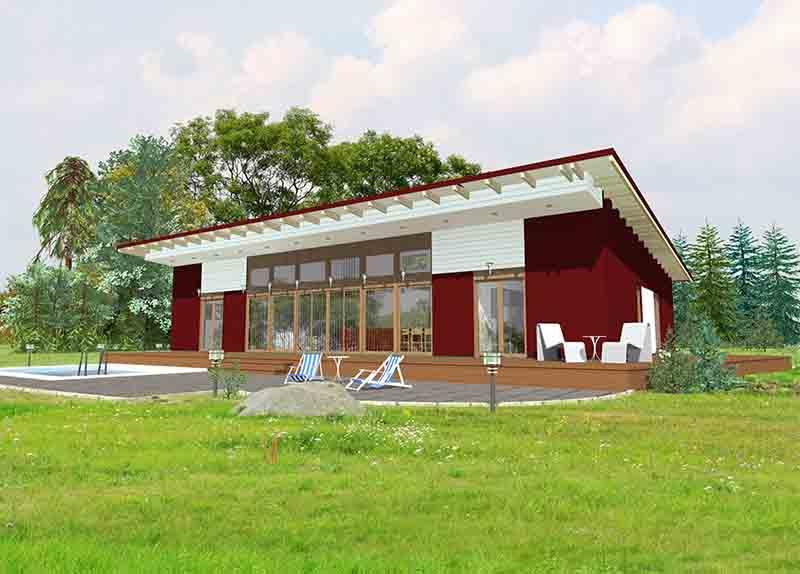 ECOLOGICAL WOODEN HOUSE 316 COMILLAS