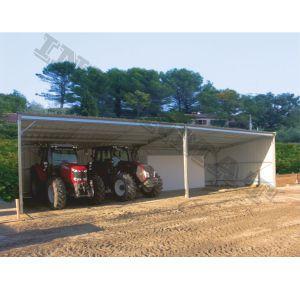 Abri agricole pour le matériel