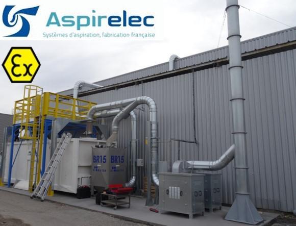 Système de filtration de COV , par charbon actif