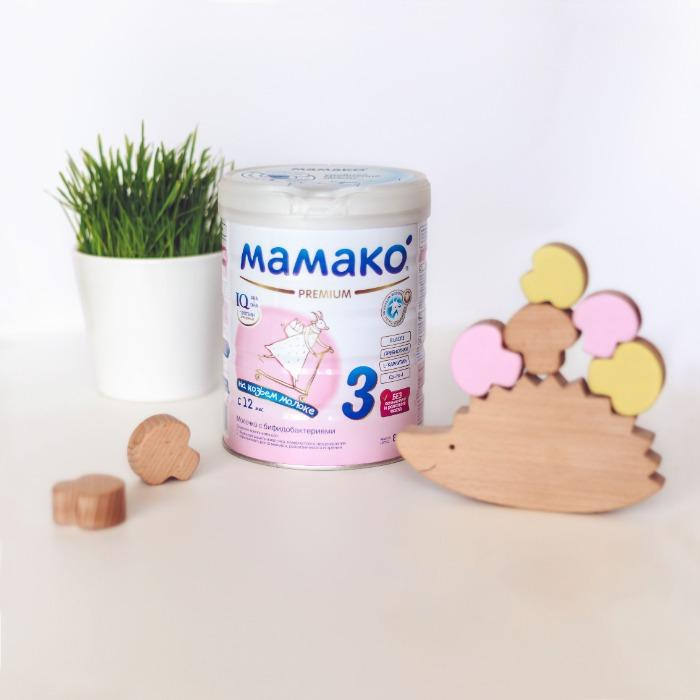 Premium goat milk-based infant formula (12+ months)