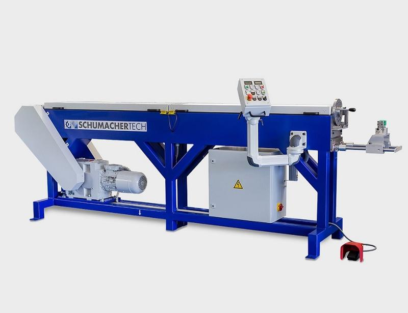 Electromechanical chain-drawing bench