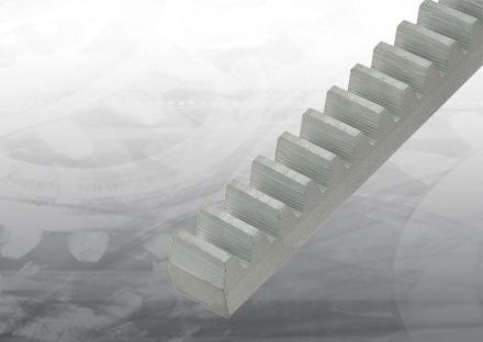 Gear rack steel M4 22X22X2000 mm.