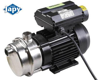 Liquid ring pump in stainless