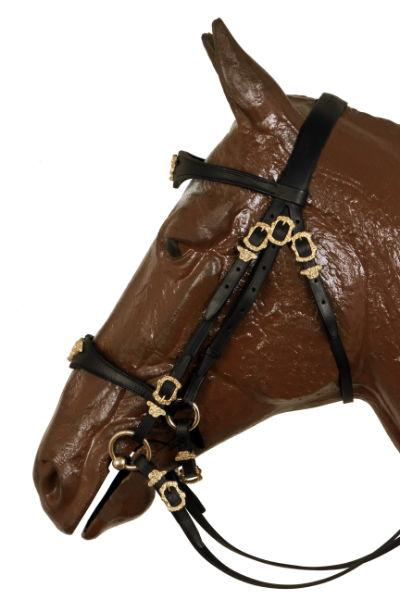 Mixed German Bridle