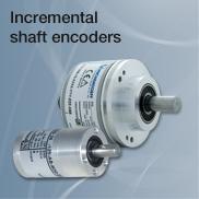Incremental shaft enoders