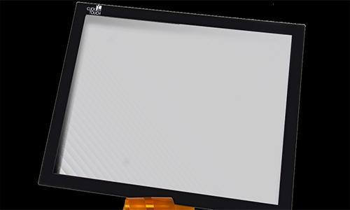 Capacitive Touchscreen on glass