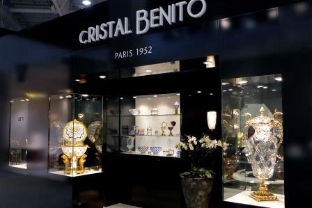 Cristal Benito - salon Maison et Objet
