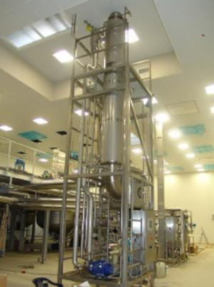 Hydroxyethyl starch concentration - Pharmaceutical production