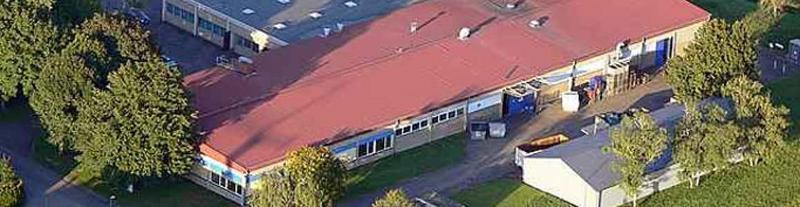 Luftbild vom Firmensitz
