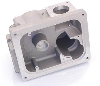 Aluminium bearbeitet Gussteil